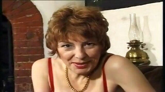 OldieButGoodie - British GrannyFucks Young Man BongaCams hairy