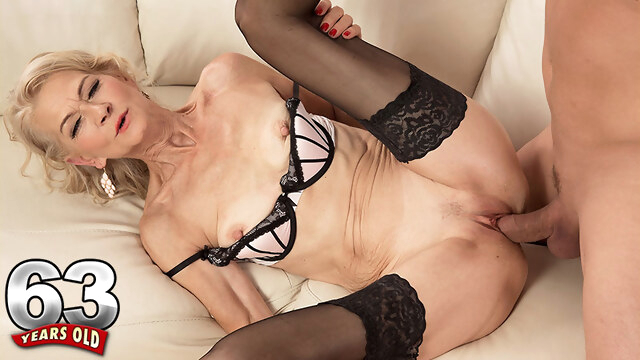 She's 63 And Still A Fuck Toy - Beata And Steve Q - 60PlusMilfs BongaCams blonde