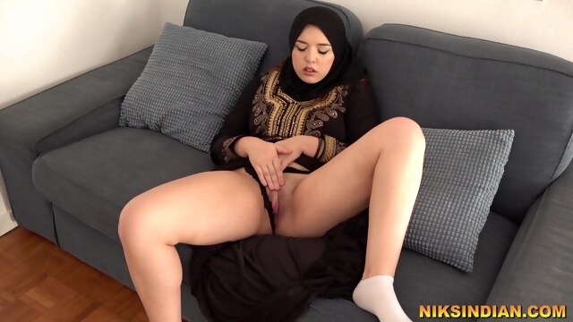 Hot Muslim Teen masturbates and gives Blowjob to Brother BongaCams blowjob