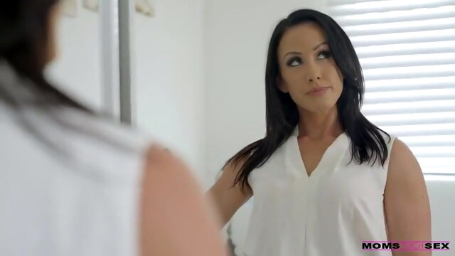 Stepmom takes the team BongaCams anal