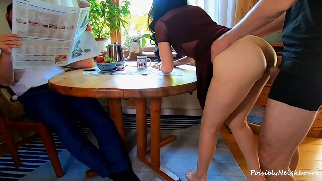 He Ignored His Wife Cheating In Front of Him with His Best Friend BongaCams amateur