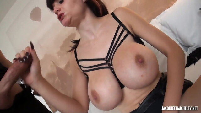 Busty French girl gets fucked with great pleasure BongaCams babe