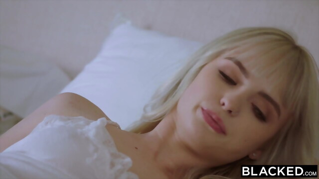 BLACKED, BBC-Hungry tiny Blonde gets creampied by roommate BongaCams blonde