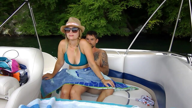 Some fun with public sex on our boat BongaCams blowjob