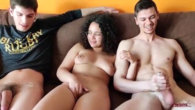 Threesome BongaCams bisexual