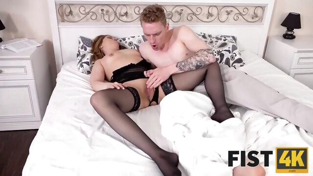 FIST4K. Morning sex with pretty chick turns into passionate anal fisting BongaCams hardcore