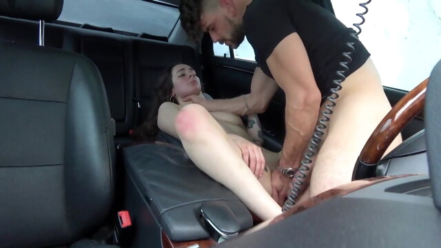 Teen Slut Pussy Demolished in The Car BongaCams amateur